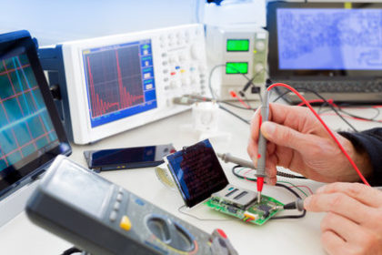 Elektronikentwicklung: Stufe Test und Redesign