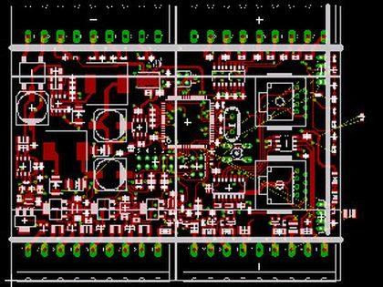 Elektronikentwicklung - Teil Leiterplattenentflechtung