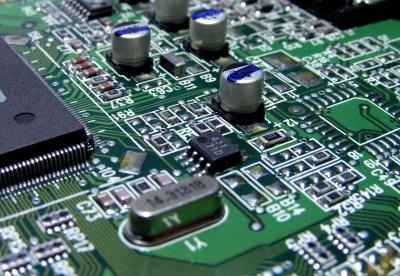 Ergebnis der Elektronikentwicklung - fertige bestückte Leiterplatte